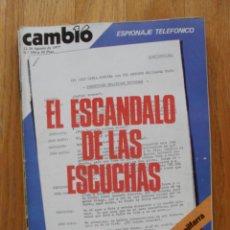 Coleccionismo de Revista Cambio 16: REVISTA CAMBIO 16, AGOSTO 1977,NUMERO 298. Lote 47018865
