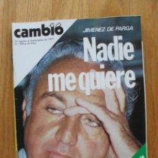 Coleccionismo de Revista Cambio 16: REVISTA CAMBIO 16, AGOSTO 1977, NUMERO 299. Lote 47018896