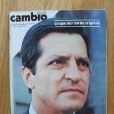 Coleccionismo de Revista Cambio 16: REVISTA CAMBIO 16 , SEPTIEMBRE 1977, NUMERO 301. Lote 47018951