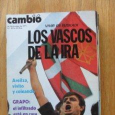 Coleccionismo de Revista Cambio 16: REVISTA CAMBIO 16, OCTUBRE 1977, NUMERO 307. Lote 47019316