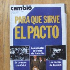 Coleccionismo de Revista Cambio 16: REVISTA CAMBIO 16, NOVIEMBRE 1977, NUMERO 309. Lote 47019381