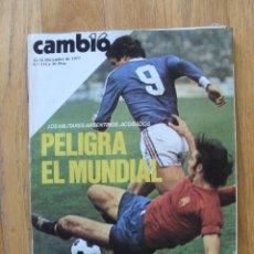 Coleccionismo de Revista Cambio 16: REVISTA CAMBIO 16, DICIEMBRE 1977, NUMERO 314. Lote 47019493