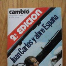 Coleccionismo de Revista Cambio 16: REVISTA CAMBIO 16, DICIEMBRE 1975, NUMERO 208. Lote 47022260