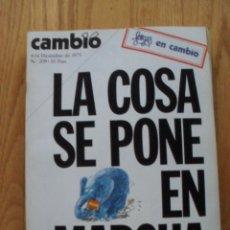 Coleccionismo de Revista Cambio 16: REVISTA CAMBIO 16, DICIEMBRE 1975 , NUMERO 209. Lote 47022323