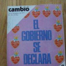 Coleccionismo de Revista Cambio 16: REVISTA CAMBIO 16, DICIEMBRE 1975, NUMERO 211. Lote 47022433