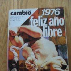 Coleccionismo de Revista Cambio 16: REVISTA CAMBIO 16 DICIEMBRE 1975, NUMERO 212, . Lote 47022471