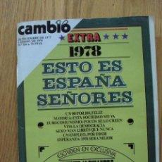 Coleccionismo de Revista Cambio 16: REVISTA CAMBIO 16, DICIEMBRE 1978 ENERO 1979 EXTRA NUMERO 316. Lote 47022667