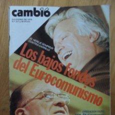 Coleccionismo de Revista Cambio 16: REVISTA CAMBIO 16, ENERO 1978, NUMERO 317. Lote 47022729