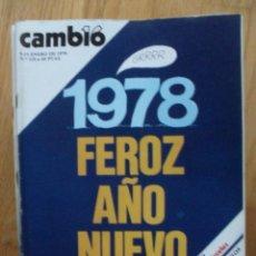 Coleccionismo de Revista Cambio 16: REVISTA CAMBIO 16, ENERO 1978, NUMERO 318. Lote 47022760