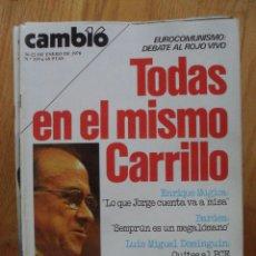 Coleccionismo de Revista Cambio 16: REVISTA CAMBIO 16, ENERO 1978, NUMERO 319. Lote 47022796