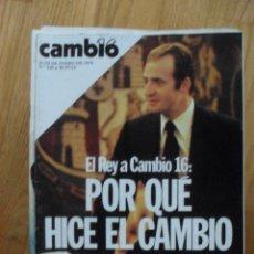 Coleccionismo de Revista Cambio 16: REVISTA CAMBIO 16, ENERO 1978, NUMERO 320. Lote 47022833