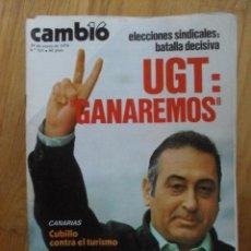 Coleccionismo de Revista Cambio 16: REVISTA CAMBIO 16, ENERO 1978, NUMERO 321. Lote 47022872