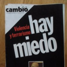 Coleccionismo de Revista Cambio 16: REVISTA CAMBIO 16, FEBRERO 1978, NUMERO 322. Lote 47022946