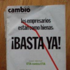 Coleccionismo de Revista Cambio 16: REVISTA CAMBIO 16, FEBRERO 1978, NUMERO 323 LEER. Lote 47023021