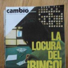 Coleccionismo de Revista Cambio 16: REVISTA CAMBIO 15, FEBRERO 1978, NUMERO 324. Lote 47023076