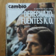 Coleccionismo de Revista Cambio 16: REVISTA CAMBIO 16, MARZO 1978, NUMERO 326. Lote 47023270