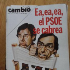 Coleccionismo de Revista Cambio 16: REVISTA CAMBIO 16, MARZO 1978, NUMERO 328. Lote 47023349