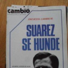 Coleccionismo de Revista Cambio 16: REVISTA CAMBIO 16, MARZO 1978, NUMERO 329. Lote 47023391
