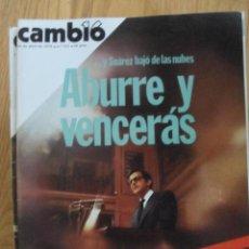 Coleccionismo de Revista Cambio 16: REVISTA CAMBIO 16, ABRIL 1978, NUMERO 332. Lote 47023521