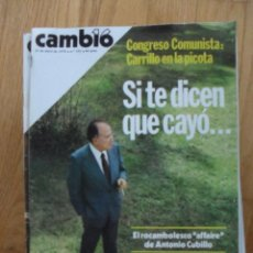 Coleccionismo de Revista Cambio 16: REVISTA CAMBIO 16, ABRIL 1978, NUMERO 333. Lote 47023564
