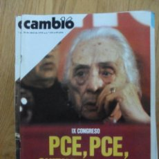 Coleccionismo de Revista Cambio 16: REVISTA CAMBIO 16, ABRIL 1978. NUMERO 334. Lote 47023627