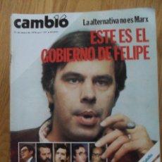 Coleccionismo de Revista Cambio 16: REVISTA CAMBIO 16, MAYO 1978, NUMERO 337. Lote 47023717