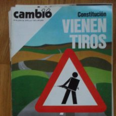 Coleccionismo de Revista Cambio 16: REVISTA CAMBIO 16, JULIO 1978, NUMERO 345. Lote 47025933