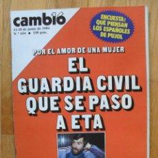 Colecionismo da Revista Cambio 16: REVISTA CAMBIO 16, JUNIO 1984, NUMERO 654. Lote 47032002