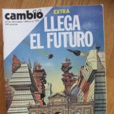 Coleccionismo de Revista Cambio 16: REVISTA CAMBIO 16, DICIEMBRE 1980, NUMERO 474 EXTRA. Lote 47055237