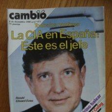Coleccionismo de Revista Cambio 16: REVISTA CAMBIO 16, DICIEMBRE 1980, NUMERO 471. Lote 47055326