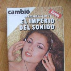 Coleccionismo de Revista Cambio 16: REVISTA CAMBIO 16, NOVIEMBRE 1980, NUMERO 469. Lote 47055384