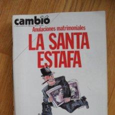 Coleccionismo de Revista Cambio 16: REVISTA CAMBIO 16, NOVIEMBRE 1980, NUMERO 468. Lote 47055418