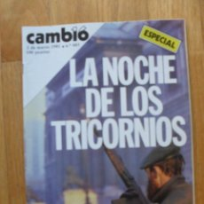 Coleccionismo de Revista Cambio 16: REVISTA CAMBIO 16, MARZO 1981, NUMERO 483. Lote 47357453