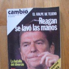 Coleccionismo de Revista Cambio 16: REVISTA CAMBIO 16, MARZO 1981, NUMERO 485. Lote 47358174