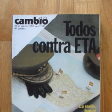Coleccionismo de Revista Cambio 16: REVISTA CAMBIO 16, MARZO 1981, NUMERO 487. Lote 47358313