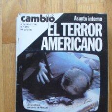 Coleccionismo de Revista Cambio 16: REVISTA CAMBIO 16, ABRIL 1981, NUMERO 488. Lote 47358346