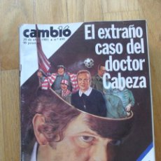 Coleccionismo de Revista Cambio 16: REVISTA CAMBIO 16, ABRIL 1981, NUMERO 490. Lote 47358454