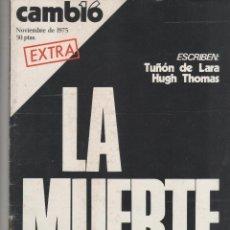 Coleccionismo de Revista Cambio 16: CAMBIO 16. Lote 47503817