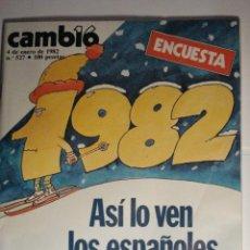 Coleccionismo de Revista Cambio 16: REVISTA CAMBIO16 Nº 527 AÑO 1982 - MIRA OTRAS EN MI TIENDA. Lote 48472307