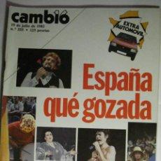 Coleccionismo de Revista Cambio 16: REVISTA CAMBIO16 Nº 555 AÑO 1982 - LANDELINO LAVILLA - MIRA OTRAS EN MI TIENDA. Lote 48472819