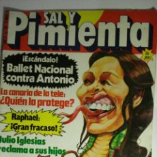 Coleccionismo de Revista Cambio 16: POLITICA REVISTA SAL Y PIMIENTA Nº 28 AÑO 1980 - ETA - SARTRE - MIRA OTRAS EN MI TIENDA. Lote 48472863