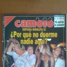 Coleccionismo de Revista Cambio 16: REVISTA CAMB16 CAMBIO16 Nº 1029 * 12/08/1991 **. Lote 50191770