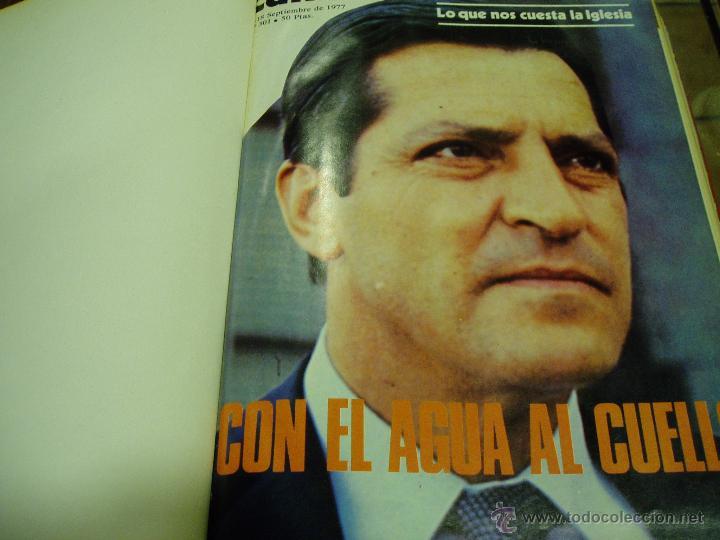 CAMBIO 16- 1977 (Coleccionismo - Revistas y Periódicos Modernos (a partir de 1.940) - Revista Cambio 16)