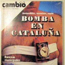Coleccionismo de Revista Cambio 16: CAMBIO 16. Nº 382. 1 DE ABRIL DE 1979 ((REVISTA)). Lote 29387337