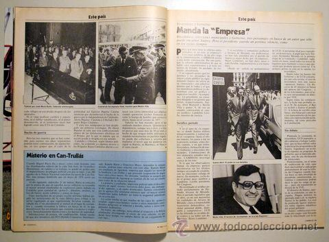 Coleccionismo de Revista Cambio 16: CAMBIO 16. nº 382. 1 de abril de 1979 ((Revista)) - Foto 2 - 29387337