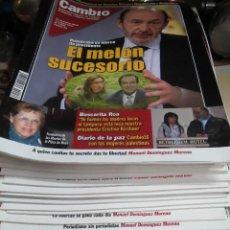 Coleccionismo de Revista Cambio 16: LOTE DE 51 REVISTAS CAMBIO 16 AÑO 2011.. Lote 50464774