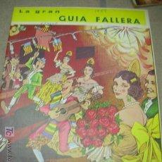 Coleccionismo de Revista Cambio 16: FALLAS VALENCIA , FALLA, FALLERO,FALLERA, FALLER, REVISTA LA GRAN GUIA FALLERA 1968. Lote 16770454