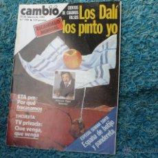 Coleccionismo de Revista Cambio 16: DALI REPORTAGE EN CAMBIO 16 - 1983. Lote 51529468