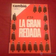 Coleccionismo de Revista Cambio 16: CAMBIO 16, NUM 228, ABRIL 1976: ETA LA GRAN REDADA. Lote 51623347