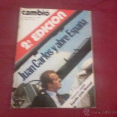 Coleccionismo de Revista Cambio 16: CAMBIO 16, NUM 208, DICIEMBRE 1975: JUAN CARLOS Y ABRE ESPAÑA (2ª EDICION). Lote 51623425